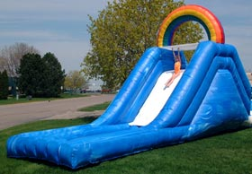 Rainbow-Water-Slide