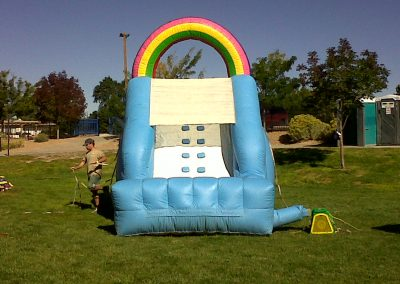 Rainbow Water Slide Front View